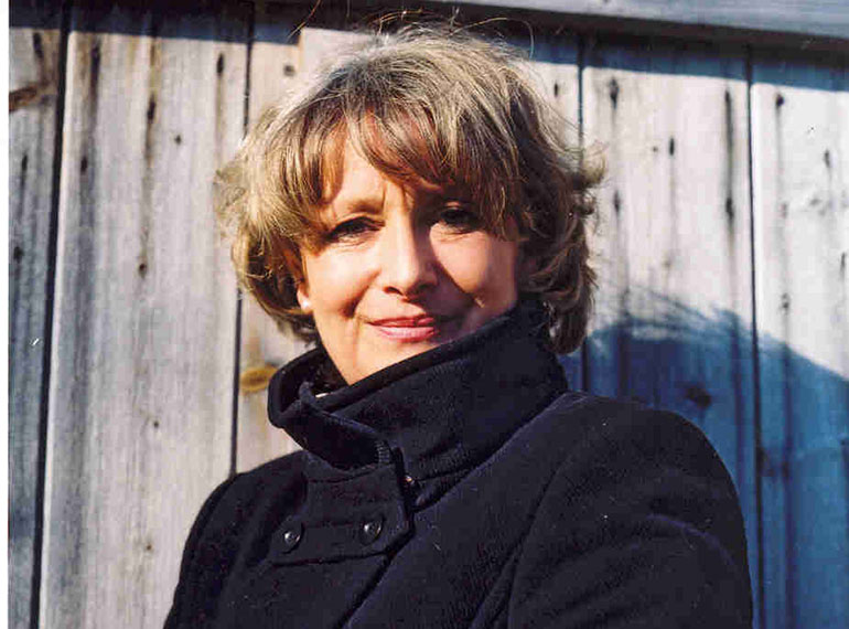 Best-selling author Minette Walters