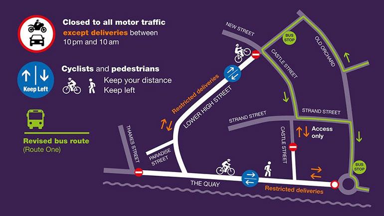 Poole-pedestrianisation-scheme