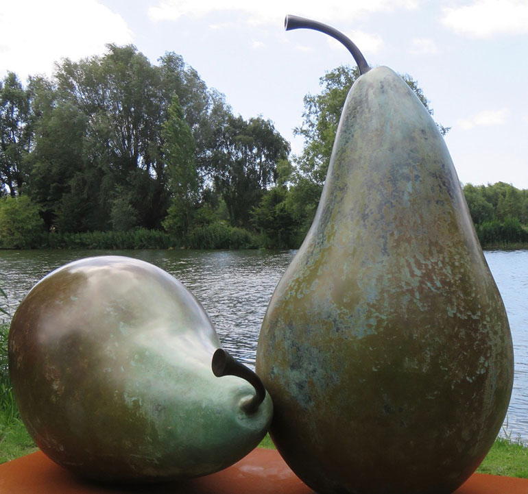 Pears by Simon Gudgeon