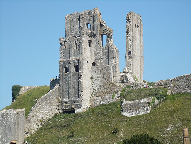 Broadstone Art Society's exhibition on the theme of Corfe Castle should be worth waiting for Photo © CatchBox /mags4dorset