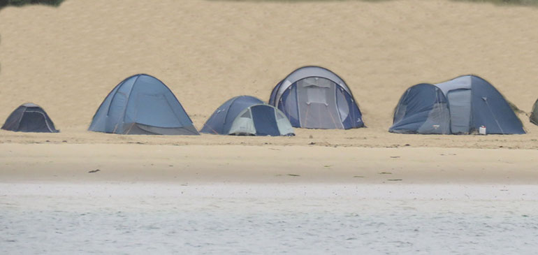 Beach-camping-Dorset
