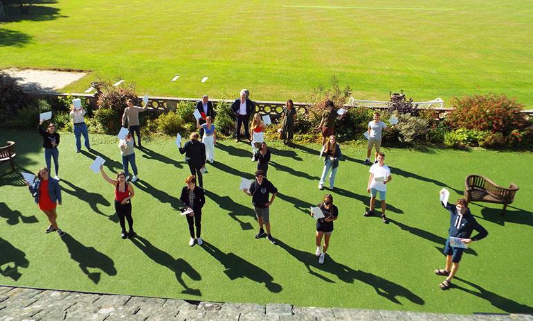 Ballard School students received their GCSE results