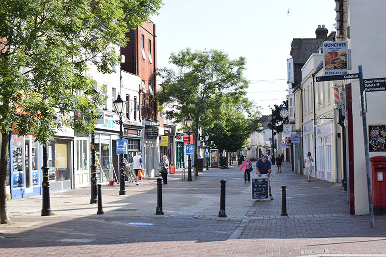 Still time to apply for a business grant: Poole High Street