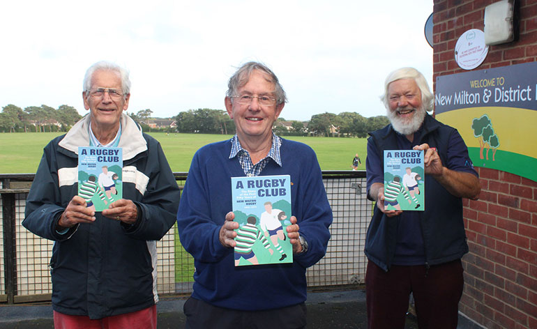 L-R, Philip Hutton, Malcolm Mecklenburgh and Nick Mussert