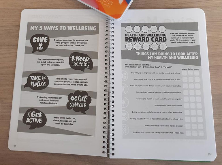 Pupil-wellbeing-book