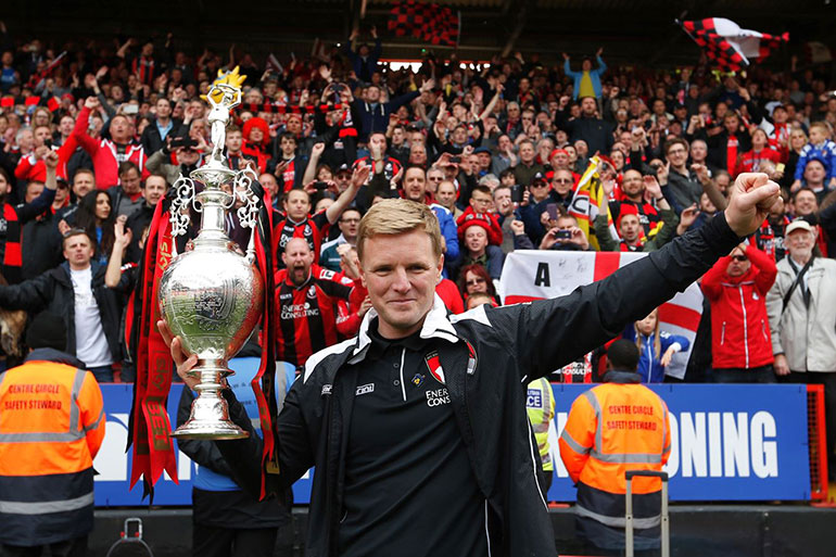"Eddie Howe's departure – ""Eddie's achievements cannot and will never be underestimated"" – courtesy of AFC Bournemouth"