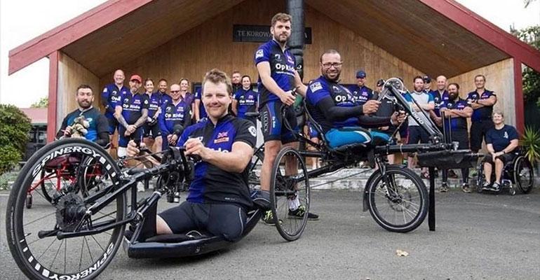 Pilgrim Bandits team in New Zealand