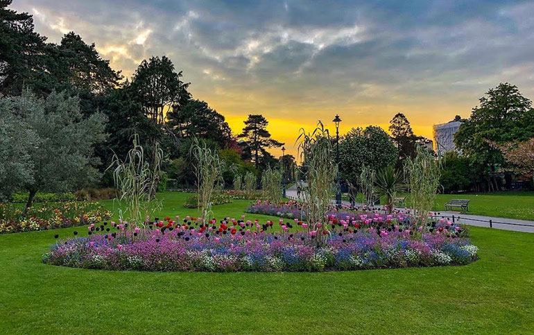 Bournemouth's Lower Gardens – picture by Adam Cowdrill