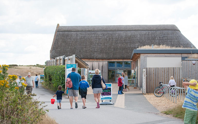 The Visitor Centre, Hengistbury Head – pictured by BCP Tourism