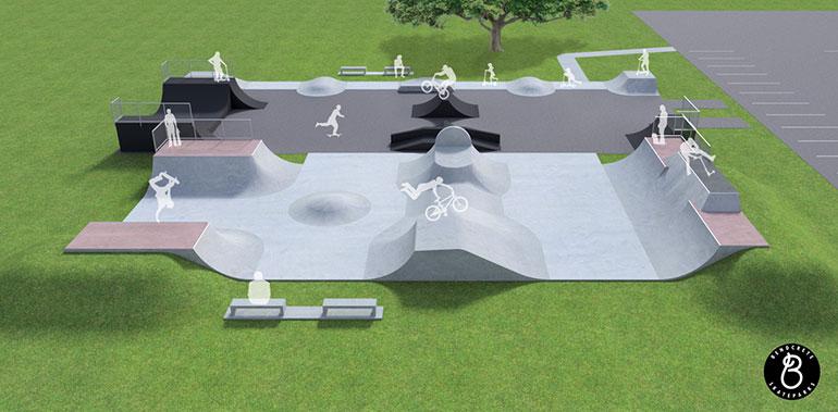 Ferndown-Skate-Park