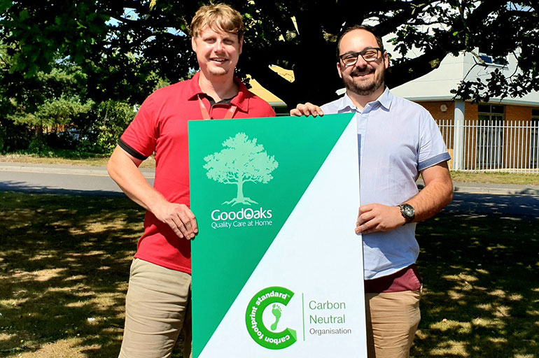Adam and Sam co-founders of Good Oaks East Dorset