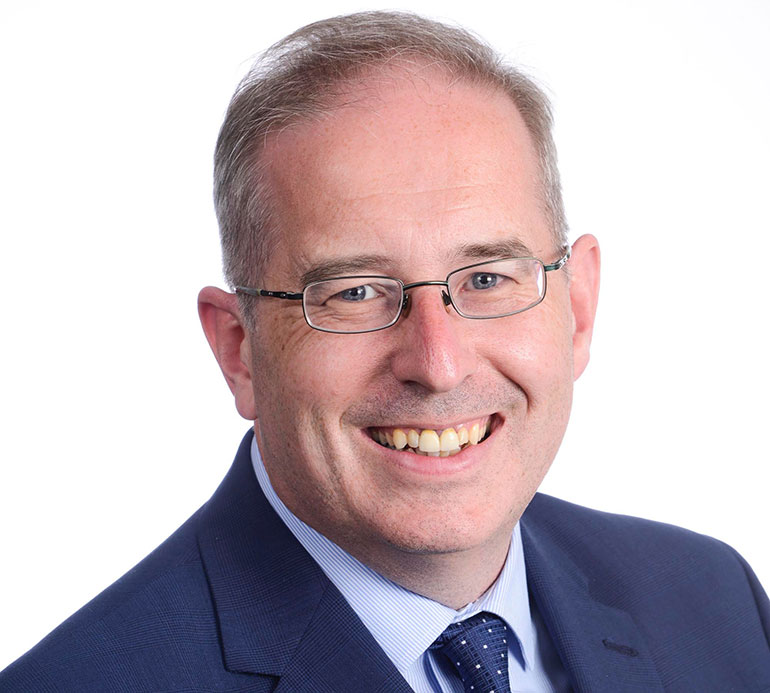 Councillor Andrew Parry, Dorset Council portfolio holder for Children, Education and Early Help