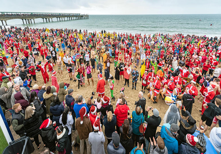 The annual Christmas Dip has been cancelled this year