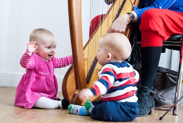 The Babigloo Music for Babies programme