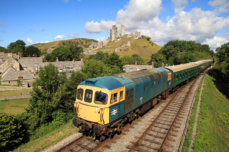 The Swanage Railway receives a welcome funding boost from the Government ©Andrew PM Wright
