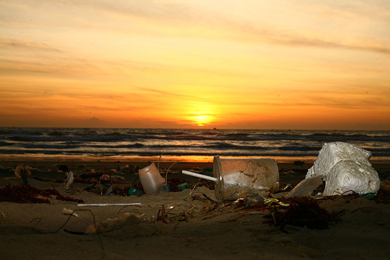 Rubbish-on-beach