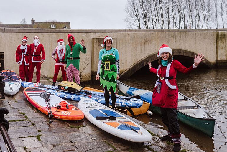 Santas in Wareham