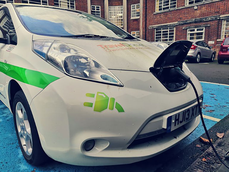 Re-charging your electric car