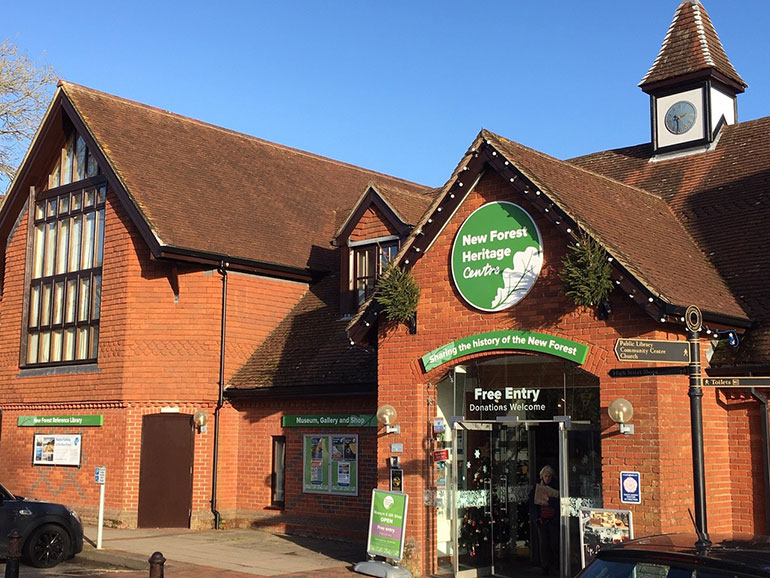 New Forest Heritage Centre, photo by NFHC