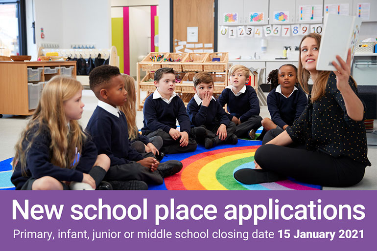 School-admissions-primary-infant-junior-or-middle-school