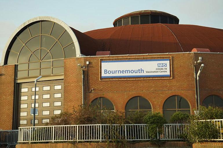 Bournemouth-COVID-19-vaccination-centre