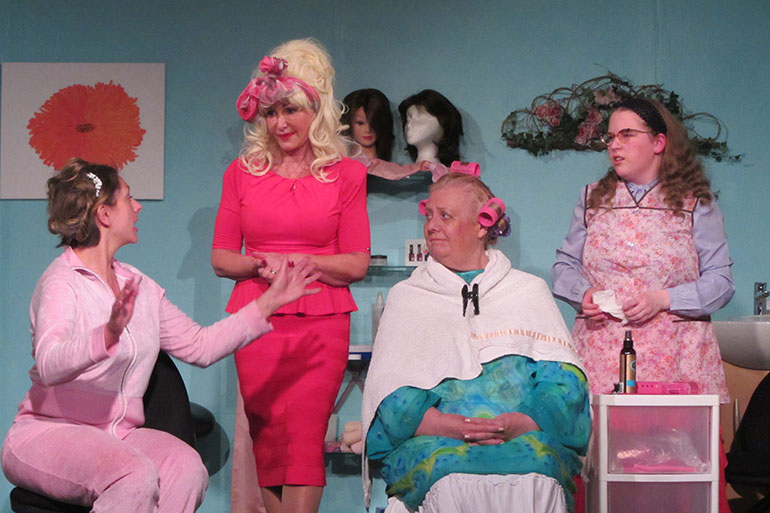 A shot from Steel Magnolias which was produced in May 2019