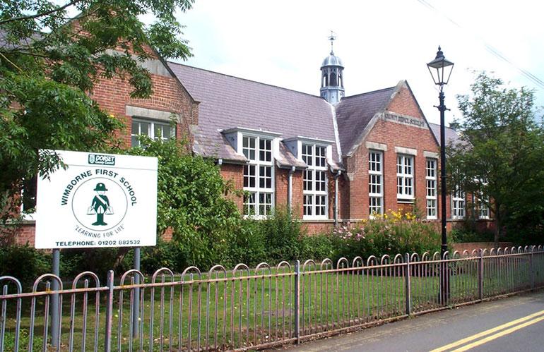 The former Wimborne First School