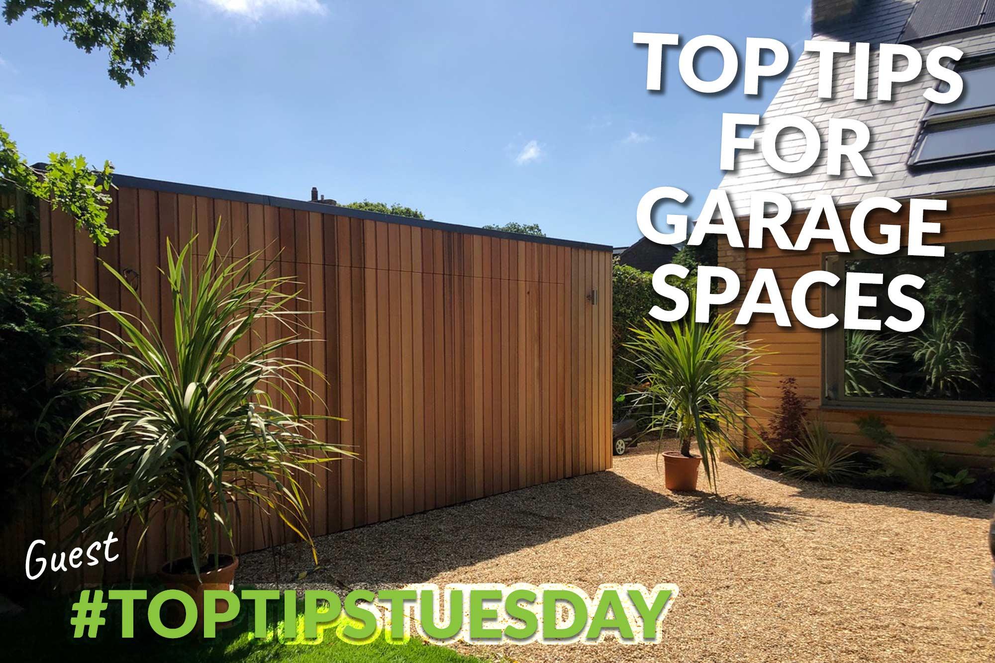 Top tips for garage doors