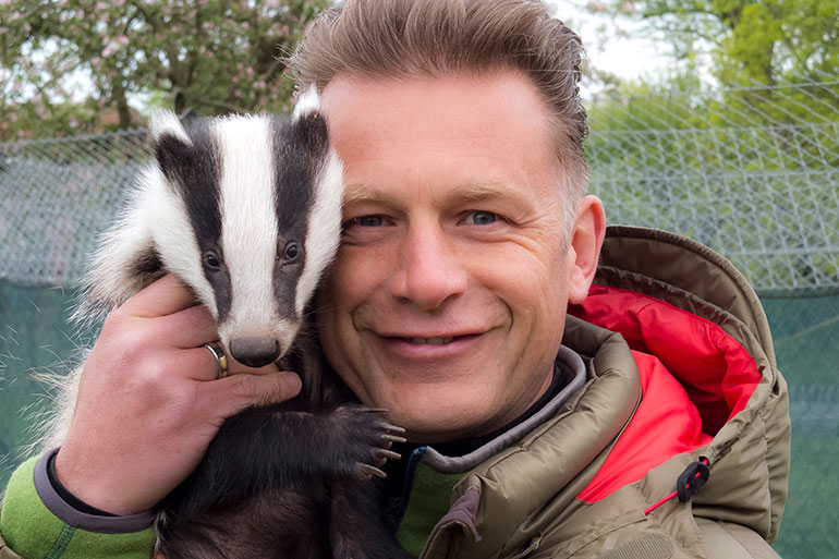 """Chris Packham speaks out for the """"humble and highly victimised badger"""""""