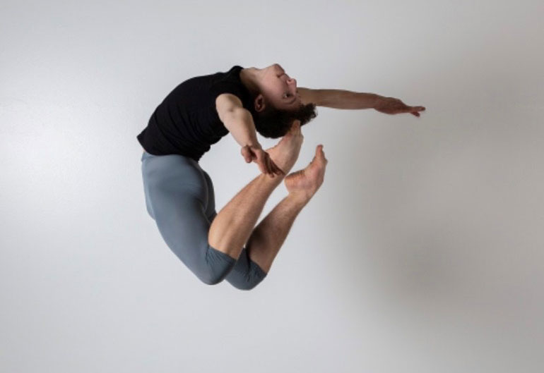 Leon Metelsky received a scholarship to support his ambition to become a professional ballet dancer