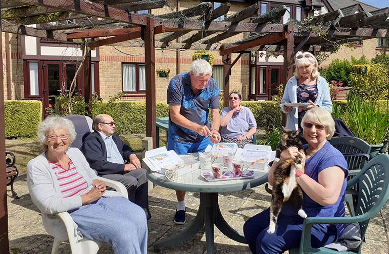 Lytchett Minster and Upton Town Council's cream tea