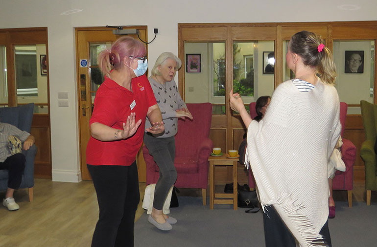 Dancing at The Aldbury in Poole