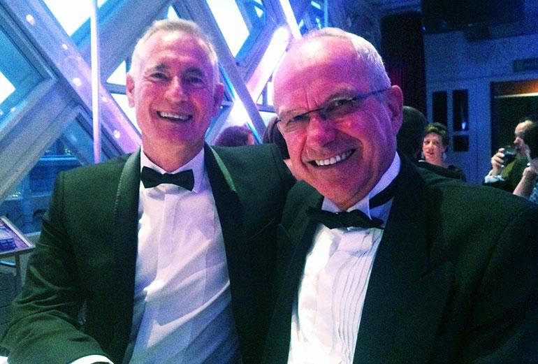 Paul Cornes and Tom Flood