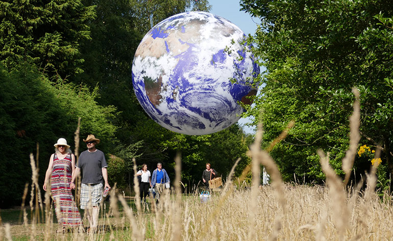 Gaia by Luke Jerram will be at Moors Valley