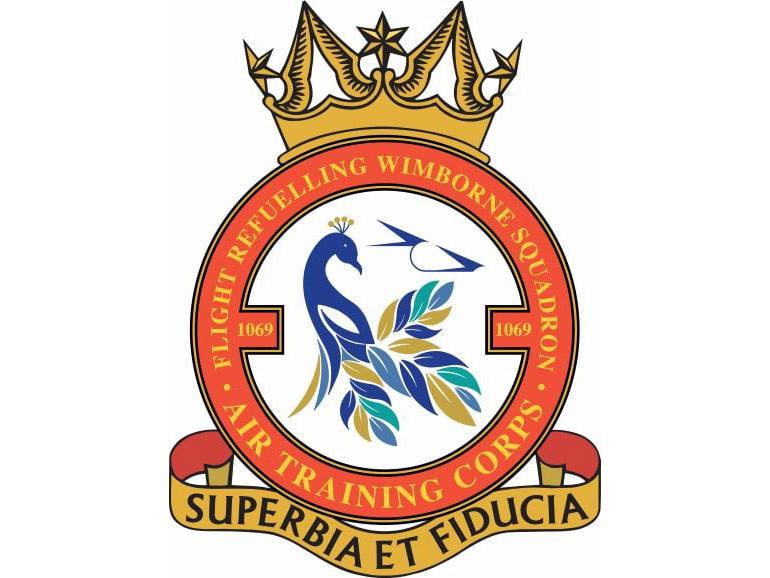 The new 1069 Squadron Crest