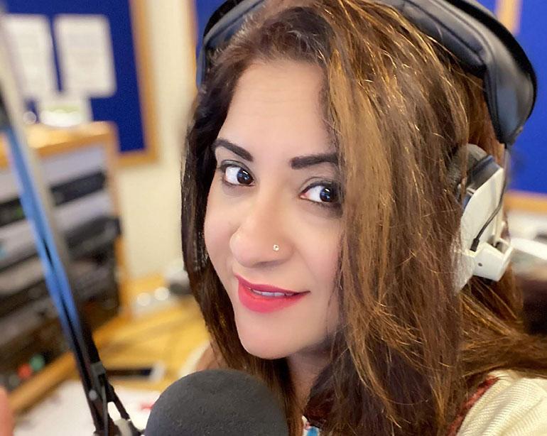 Bollywood Beats presenter Anjali
