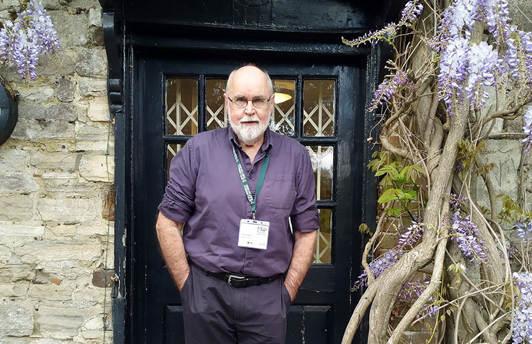 Professor John Humphreys, new chairman of the Board of Trustees of the Museum of East Dorset