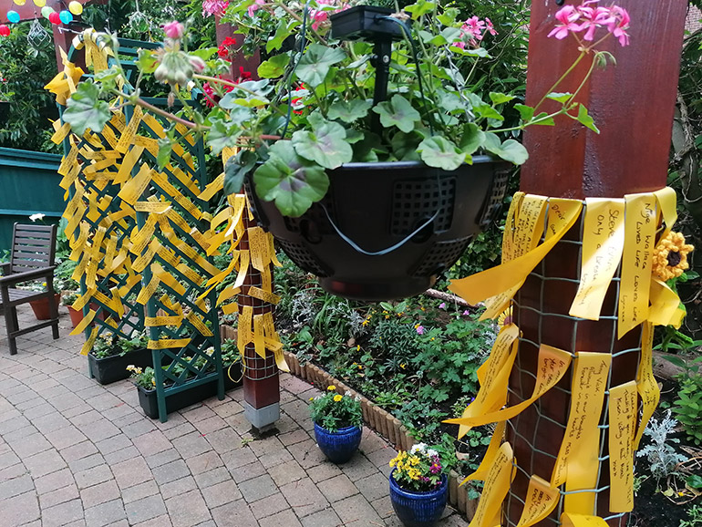 Forest-Holme-annual-Tie-A-Yellow-Ribbon-event