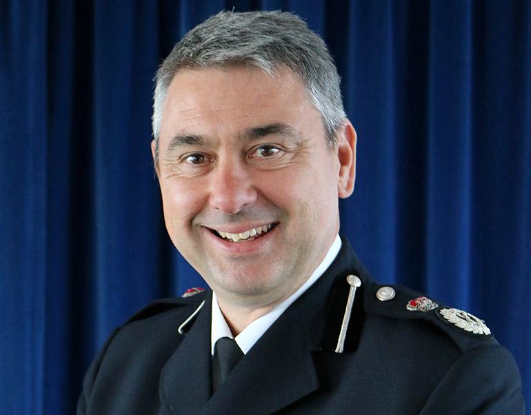 Chief Constable James Vaughan