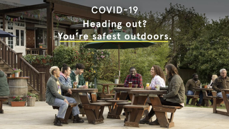COVID-19 heading out? You're safest outdoors.