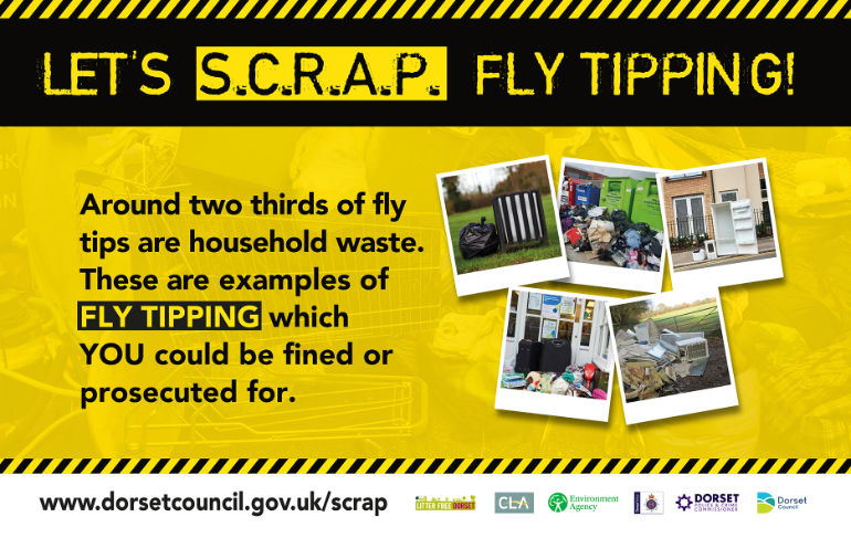 SCRAP fly tipping campaign