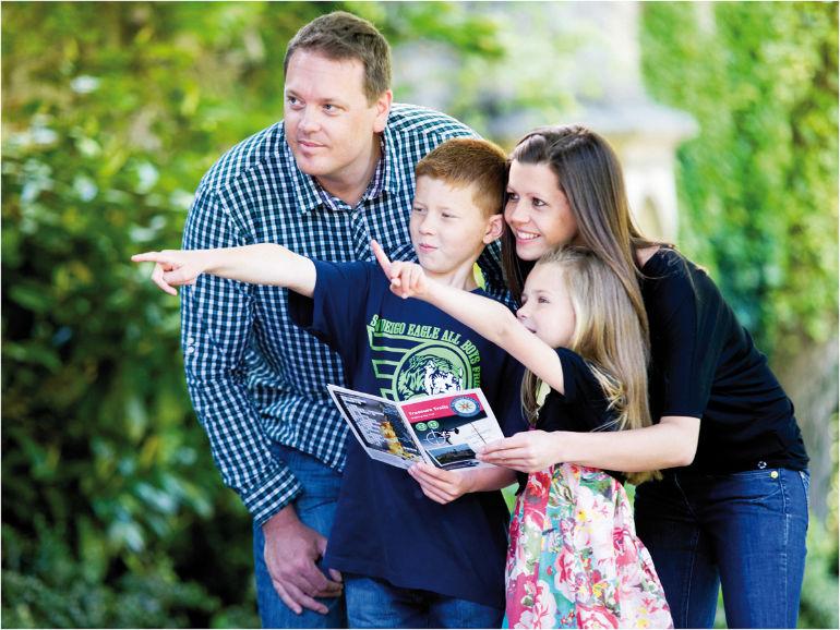 Treasure trails Family take on a Treasure Trail