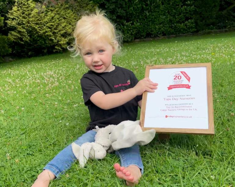 Felicity Top 20 Nursery Group Award