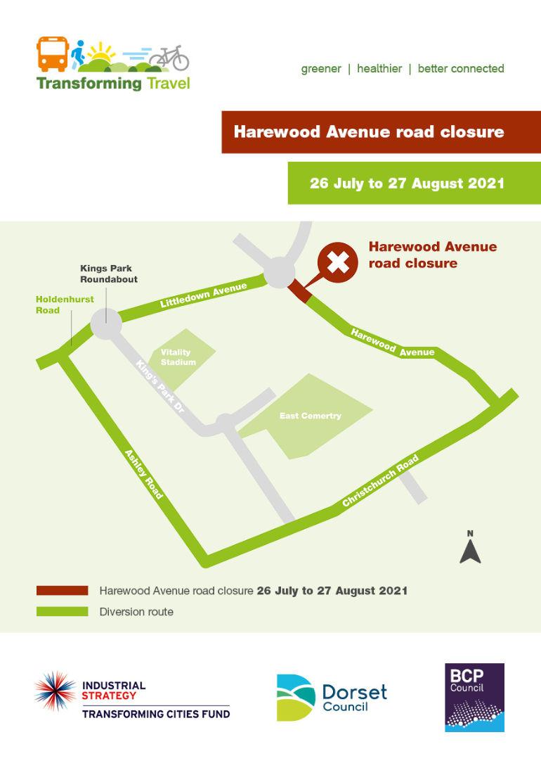 Harewood Avenue road closure_A5_Web