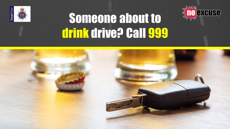 drink drivers CALL 999