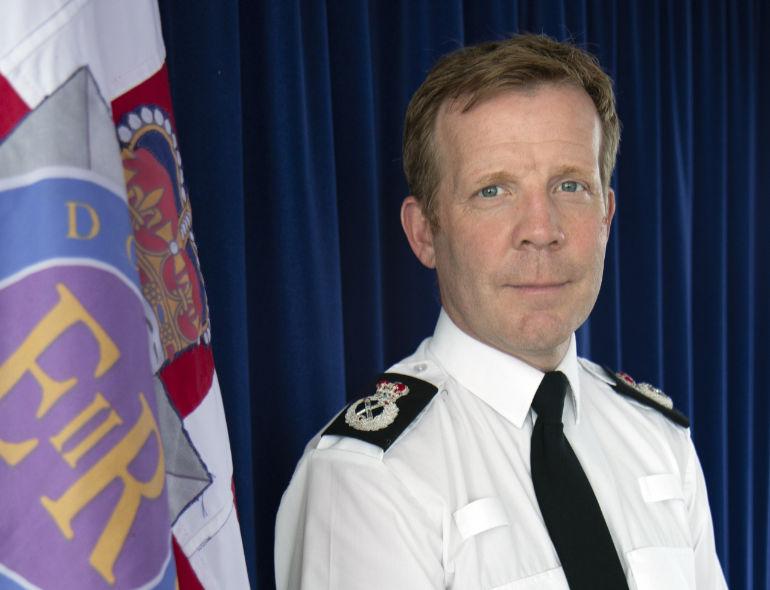 Chief Constable Scott Chilton