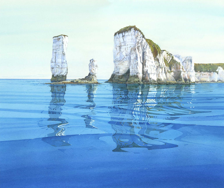 Evening Reflection by acclaimed watercolour artist Cathy Veale