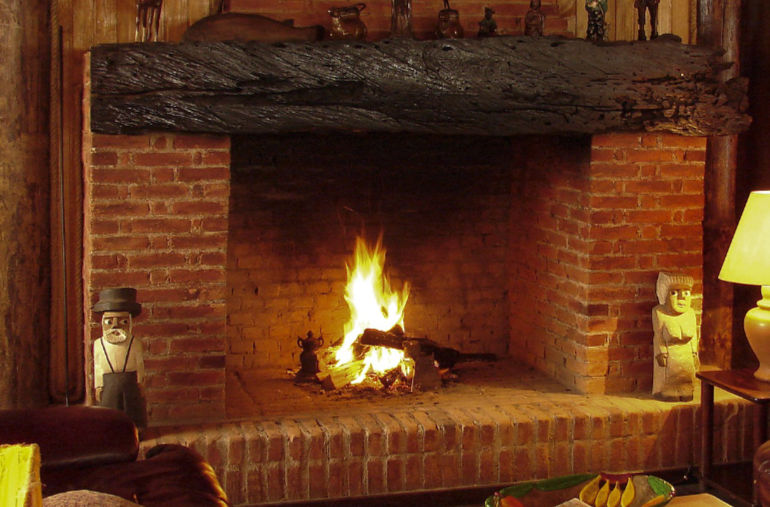 Always get your chimney swept before cold weather sets in