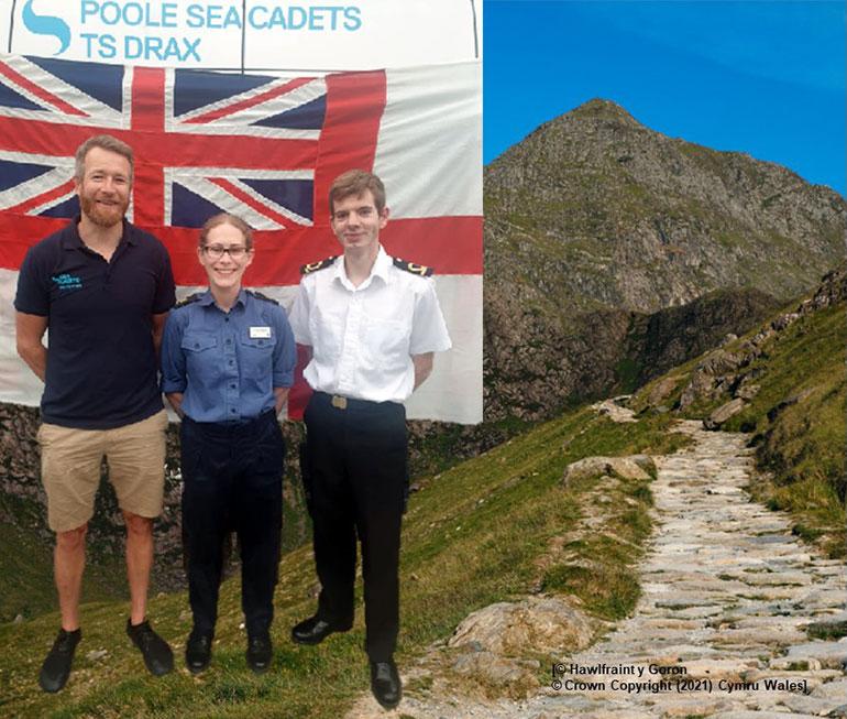 Mount Snowdon photo by Visit Wales (© Hawlfraint y Goron - © Crown Copyright (2021) Cymru Wales)