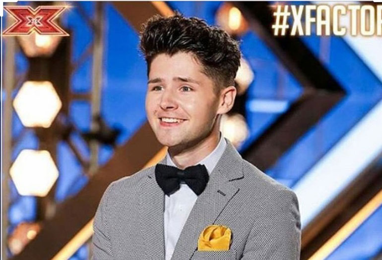 The X Factor headshot of Russell Jones Jr (2017)